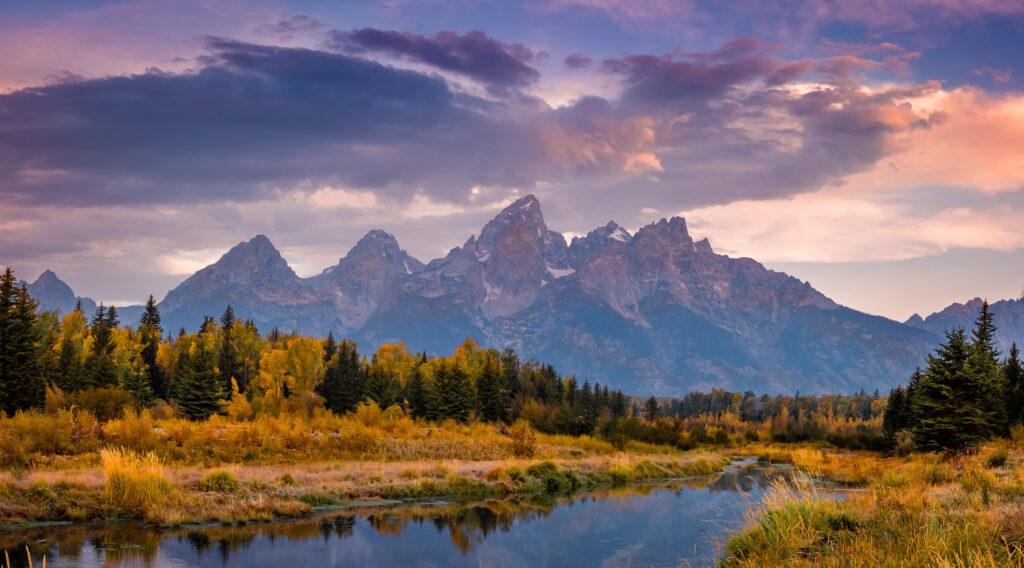 Grand Tetons Schwabacher Landing Wyoming Landscape Photography Sunrise Grand Teton National Park Photo Masters Workshops